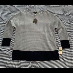 Charter Club blue Cashmere Sweater